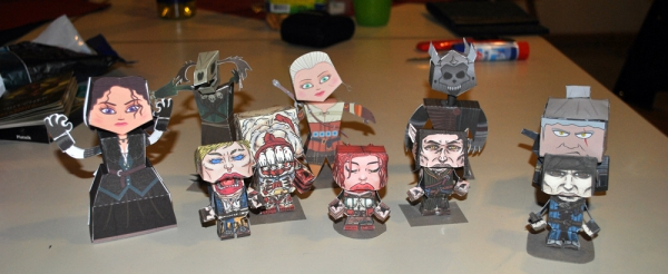 The Witcher Papercraft-Team
