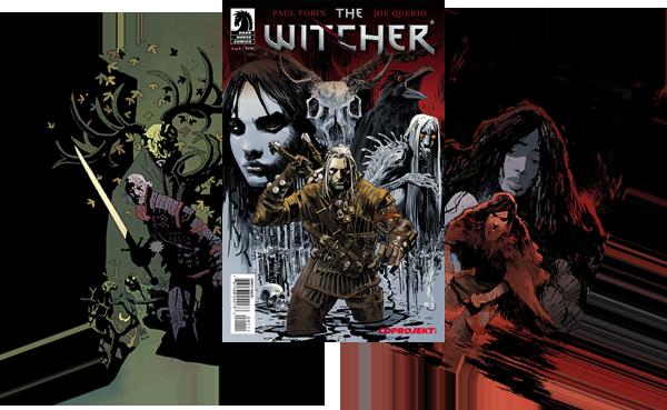 The Witcher: House of Glass, Hefte 1-2 und Sondercover des Sammelbandes