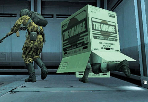 Metal Gear Solid 2 Screenshot